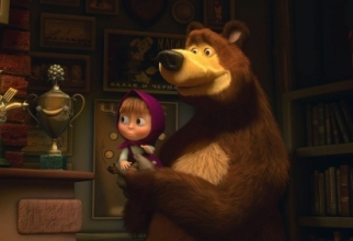 Desktop Wallpapers - Masha and the Bear (83 wallpapers)